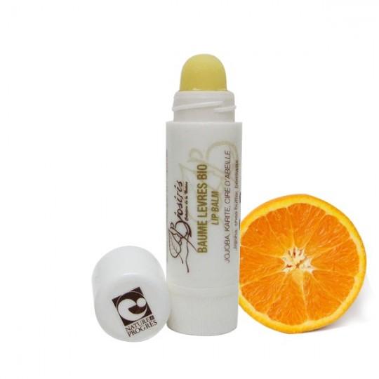 Baume à lèvres aux agrumes - Nourrissant & Anti Gerçures