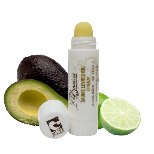 Baume à lèvres à l'avocat et au citron vert - Protection