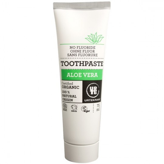Dentifrice à l'Aloe Vera 75 ml - Sans Fluorure - Protection optimale des genvices