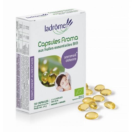 Capsules d'huiles essentielles - Sommeil Détente - Je suis stressé quelles huiles essentielles prendre contre le stress. J'ai du