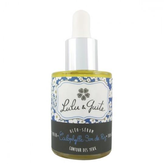 Sérum contour des yeux 30 ml - à l'huile de calophylle. L'huile de calophylle est le meilleur anti cernes et anti poche du monde