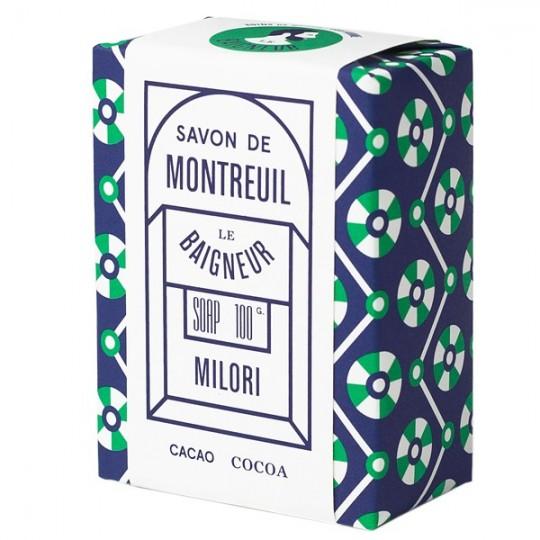 Savon Milori 100gr - Beurre de Cacao cru et Argile Ghassoul