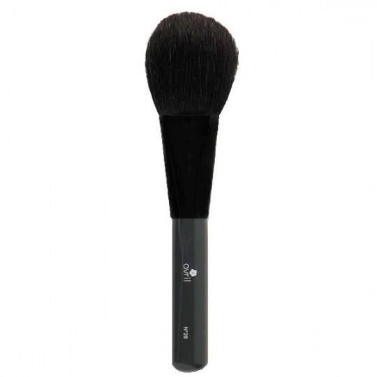 Pinceau Pro Poudre n°28 en chèvre noire