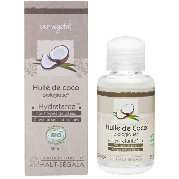 huile de noix de coco huile de beaut pour les cheveux et la peau 50 ml huile de coco bio. Black Bedroom Furniture Sets. Home Design Ideas
