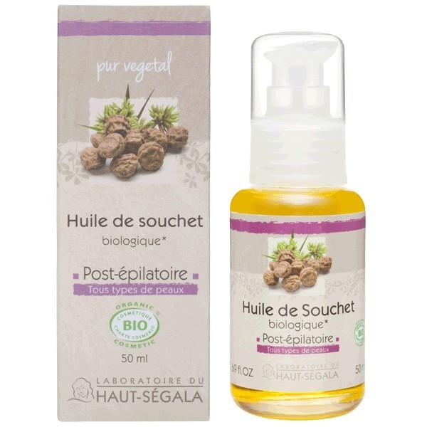 rasage et epilation huile de souchet bio contre la repousse des poils apres epilation contre la pilo