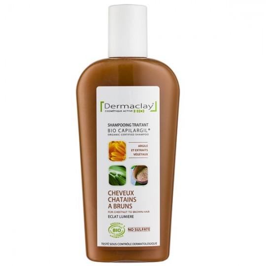 Shampoing à l'Argile 250 ml - Cheveux châtains à bruns