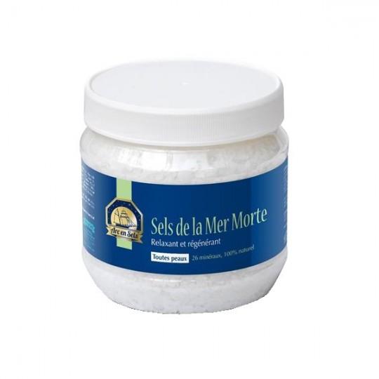Sels de la Mer Morte 1kg - 26 minéraux - Relaxant et Régénérant