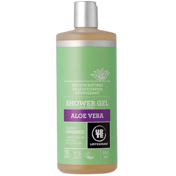 Gel douche l 39 alo v ra pour peaux fragiles urtekram - Gel douche peau atopique ...
