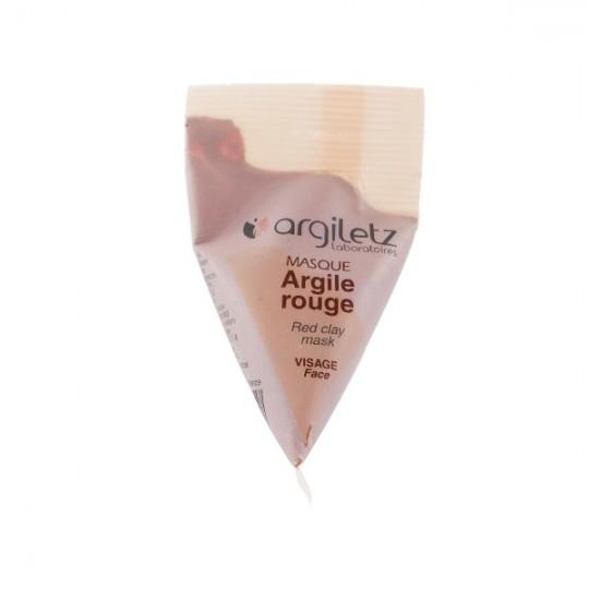 Masque Visage Argile Rouge - Berlingot 15ml