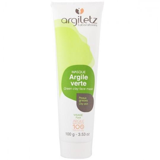 Masque Visage Argile Verte 100g - Peaux grasses