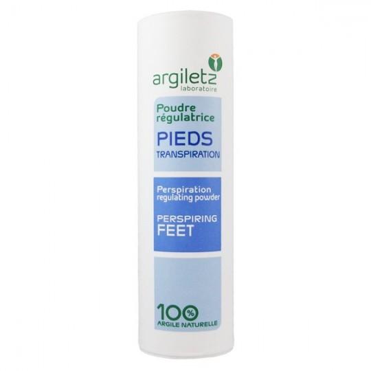Poudre régulatrice transpiration pour les pieds