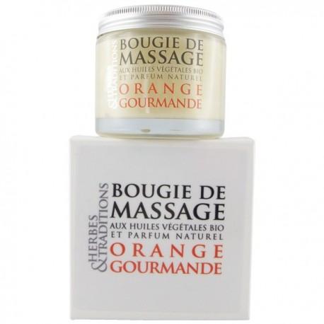 huile de massage sexuel Orange