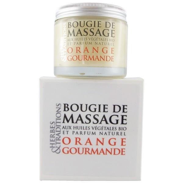 bougie de massage naturel bio sans paraben orange gourmande. Black Bedroom Furniture Sets. Home Design Ideas