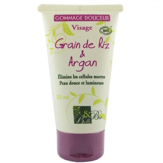 Gommage visage douceur 50ml - Grain de Riz et Argan