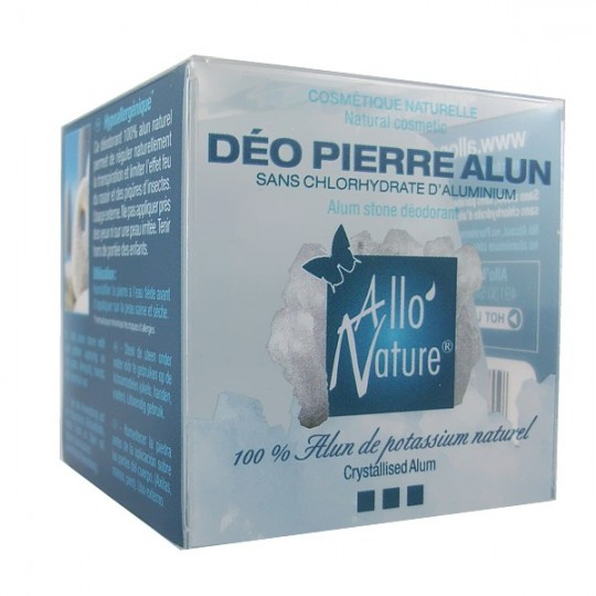 Déo Pierre d'Alun Pure 150gr - 100% Alun de potassium