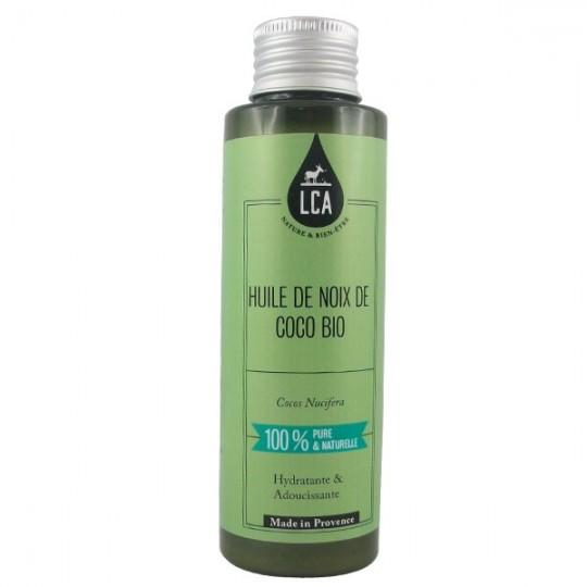 Huile de Noix de Coco Bio Pure - Hydratante - Idéale pour les cheveux