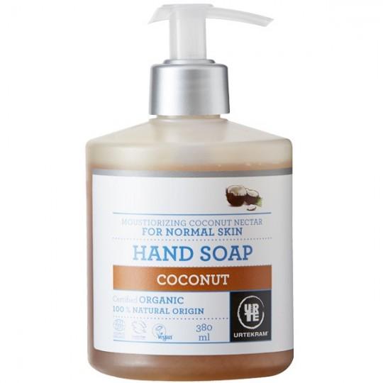 Savon liquide Mains à la Noix de Coco 380ml - Nourrissant - Savon liquide pour les mains bio qui sent bon la noix de coco