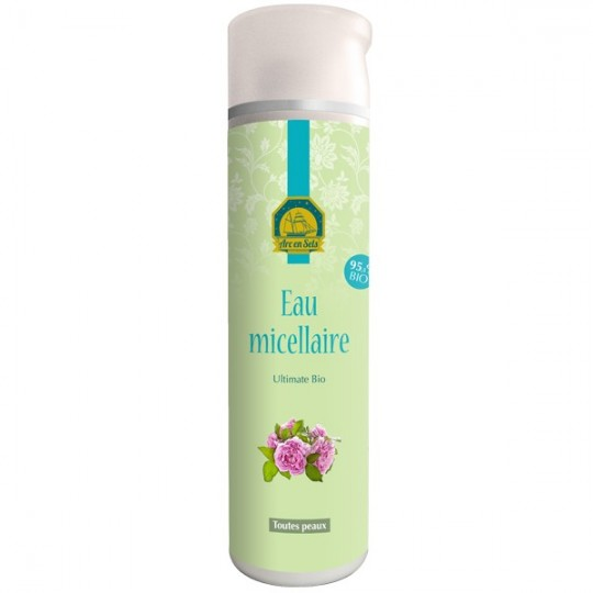 Eau Micellaire à la Rose de Mai 250 ml - Démaquillante et Nettoyante - Pour les peaux sensibles et délicates.