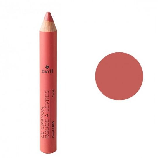 Crayon rouge à lèvres - Corail - Maquillage bio Avril Cosmétique