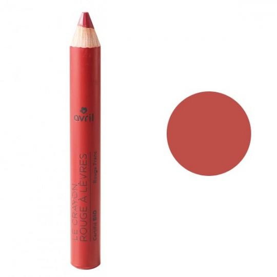 Crayon rouge à lèvres - Rouge Franc - Avril maquillage bio avis Acheter