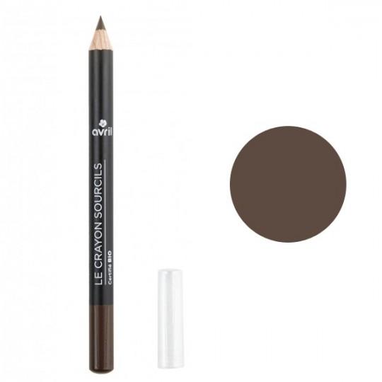 Crayon Sourcils Bio - Brun - Avril Maquillage bio