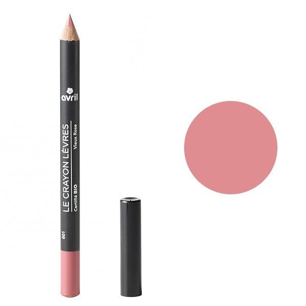 crayon contour des l vres vieux rose avril maquillage bio. Black Bedroom Furniture Sets. Home Design Ideas