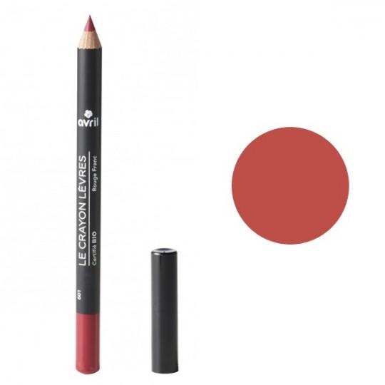Crayon contour des lèvres - Rouge Franc - Avril Maquillage bio