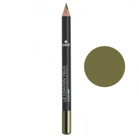 Crayon pour les yeux bio - Vert Kaki Camouflage