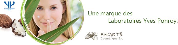 Découvrez les produits essentiels de la marque Biokarité des Laboratoires Yves Ponroy.