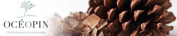 Océopin propose une huile végétale bio inédite aux vertus d'exception aux graines de pin maritime.