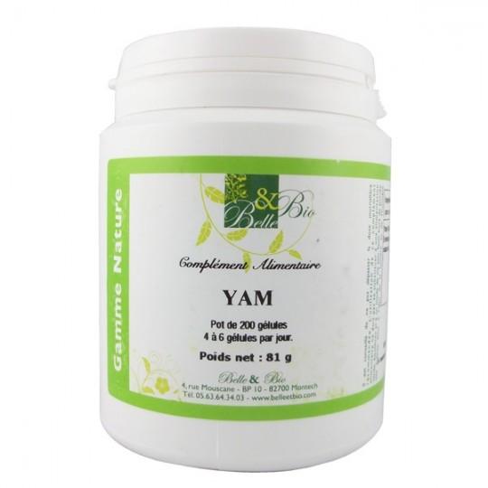 Yam 200 Gélules - Symptômes de la ménopause Renforcer les os pendant la ménopause