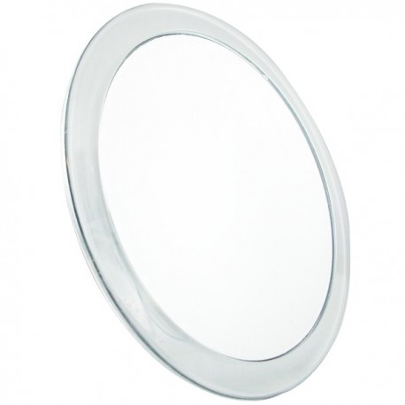 Miroir grossissant X5 - Anti-buée avec ventouses