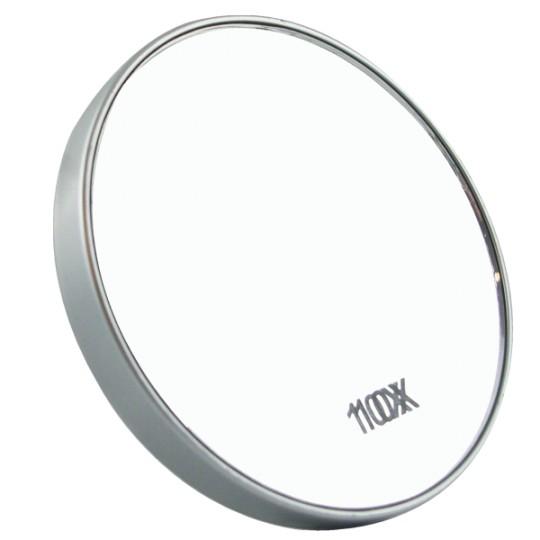 Miroir grossissant X10 - Petit modèle avec ventouses