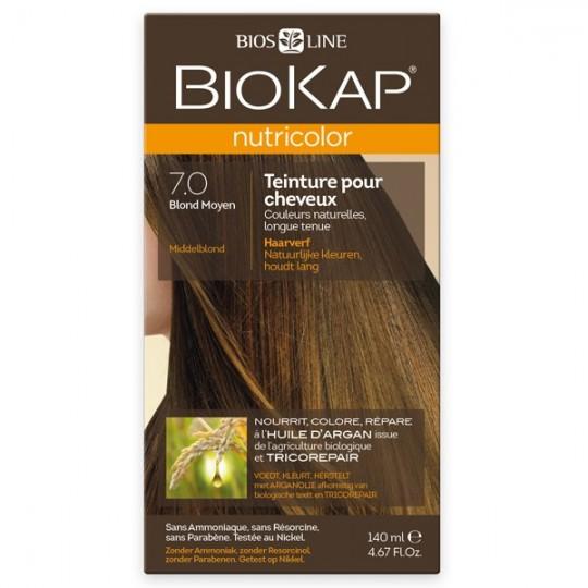 Coloration 7.0 Blond Moyen Nutricolor Biokap