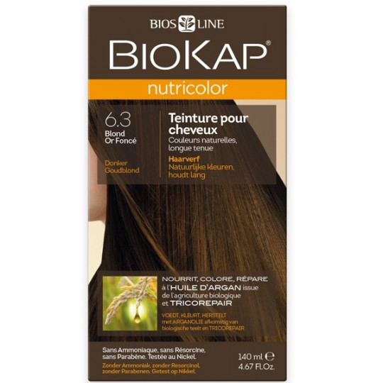 Coloration 6.3 Blond Or Foncé - Nutricolor