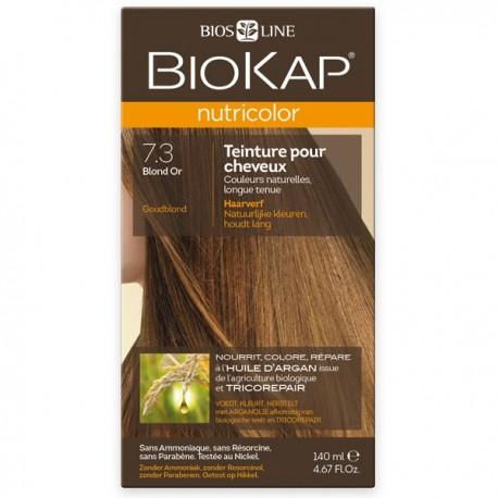 Coloration 7.3 Blond Or Biokap Nutricolor
