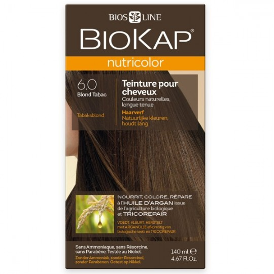 Coloration 6.0 Blond Tabac