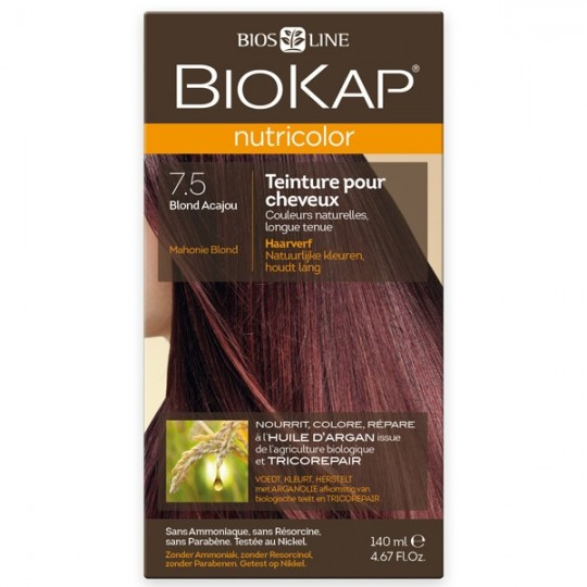Coloration 7.5 Blond Acajou - Nutricolor