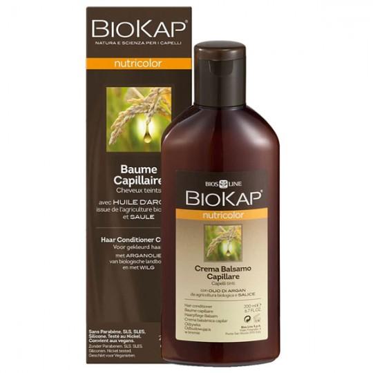 Baume Capillaire après-shampoing pour cheveux colorés ou décolorés. Donne éclat et stabilité à la couleur.