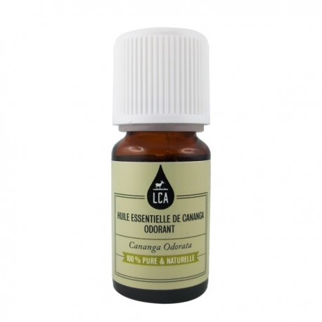Huile essentielle Cananga odorant ou d'ylang ylang