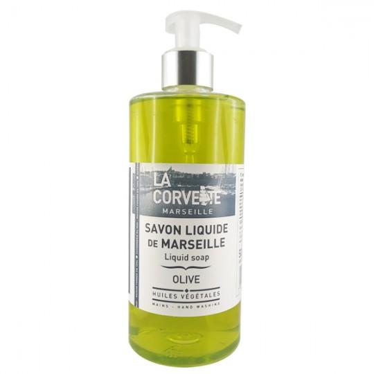 Savon de Marseille liquide 500 ml - Olive