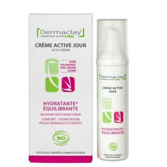 Crème Active Jour 50ml - Hydratante et Équilibrante