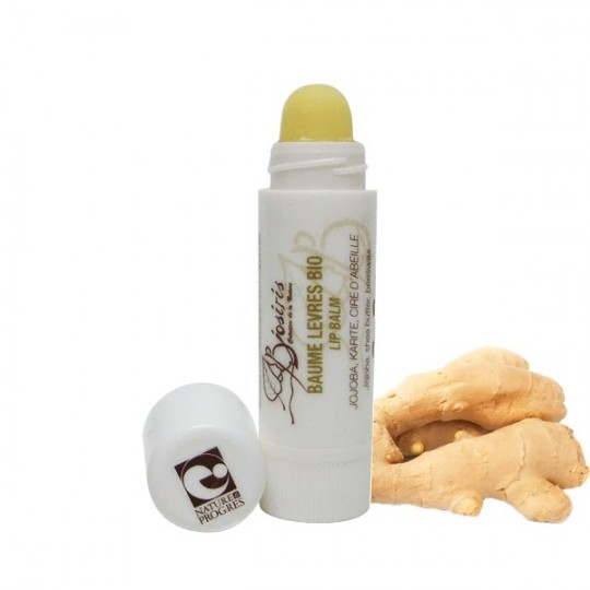 Baume à lèvres Chanvre & Gingembre - Anti Vieillissement