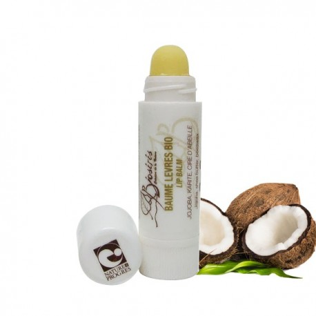 Baume à lèvres à la noix de coco - Lèvres sensibles & abîmées