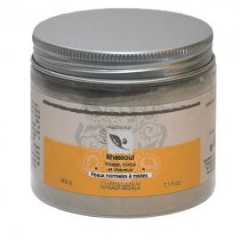 Rhassoul naturel en poudre - Visage Corps et Cheveux