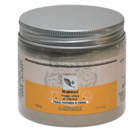 Poudre de Rhassoul - Masque purifiant et de Beauté
