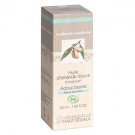 Huile d'amande douce Bio - Adoucissante et Hydratante
