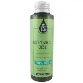 Huile de Noix du Brésil Bio 100 ml - Hydratante et anti-fourches