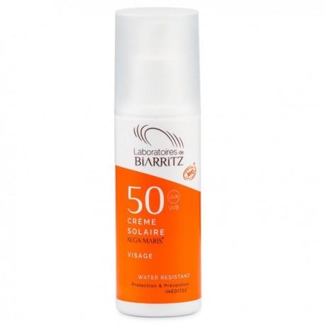 Crème Solaire Visage SPF50 50ml - Protection Anti UV