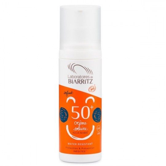 Crème Solaire Enfants SPF50+ - Très haute protection
